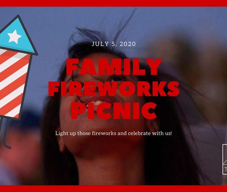 Family Fireworks Picnic